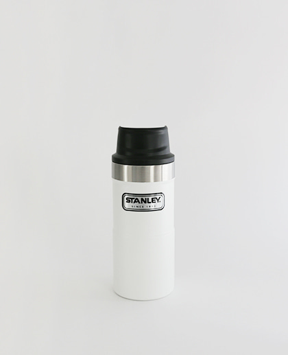 Stanley Classic The Trigger Action Travel Mug 354ml (White)
