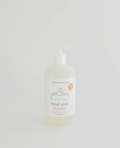 Common Good Hand Soap / Bergamot 355mL