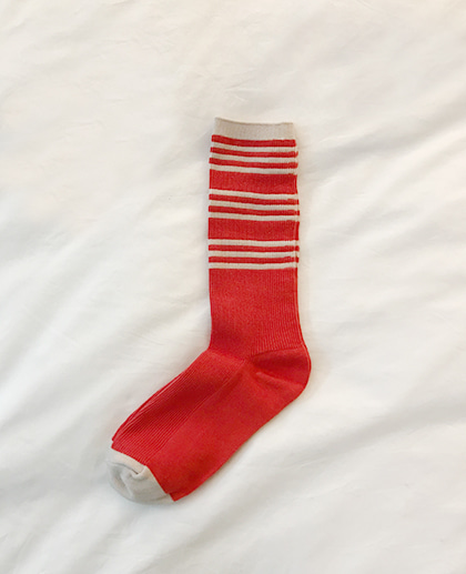 Grocery socks (Red)