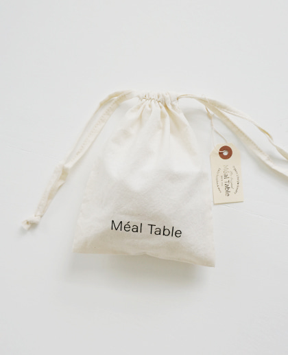 Meal Table Daily Cotton Pouch
