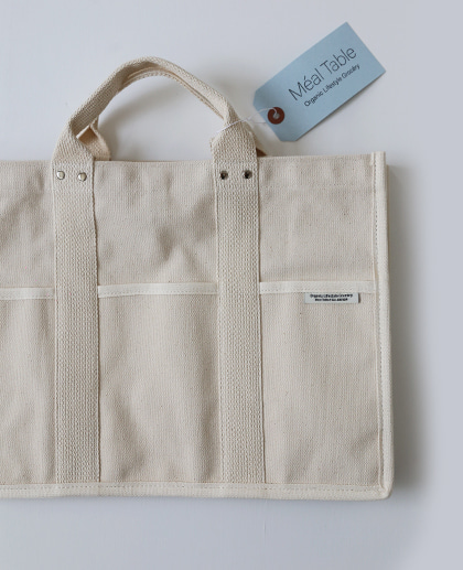 Meal Table Pocket canvas bag