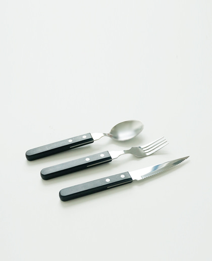 (2차 재입고) Diner spoon&fork set (+knife)