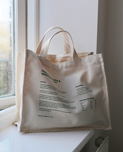 Meal Table Market Bag #7 Recipe Tote (in London)