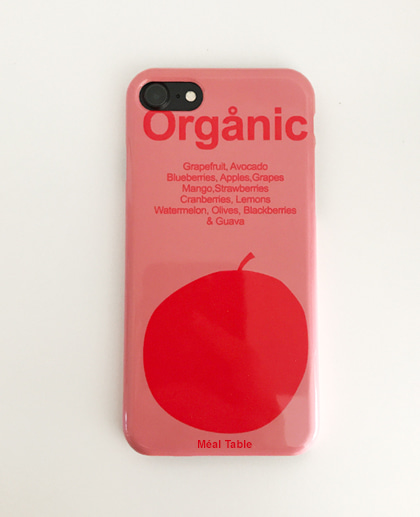 Meal table iPhone Case (Organic)