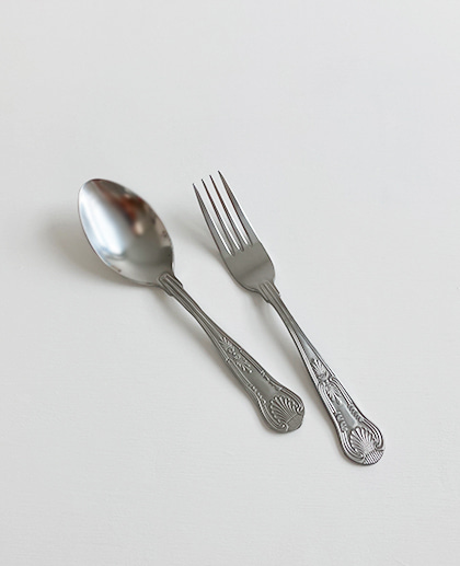 (UK) Edward Spoon&Fork set