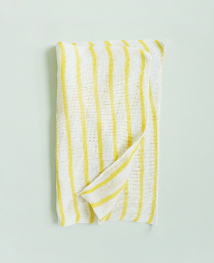 (UK) Cotton Striped Dishcloth