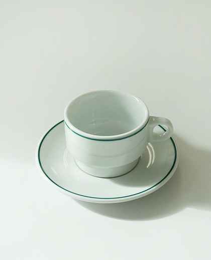 Porvasal Coffee cup&saucer set (210ml)