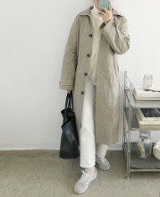 Dwell trench coat (Packable/(2color)