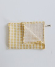 Meal Table Check Kitchen Cloth (yellow)